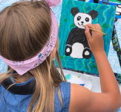 Children's Painting Party Gallery